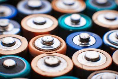 batteries - waste